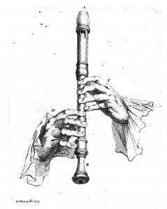 Plokkflöödi käehoid